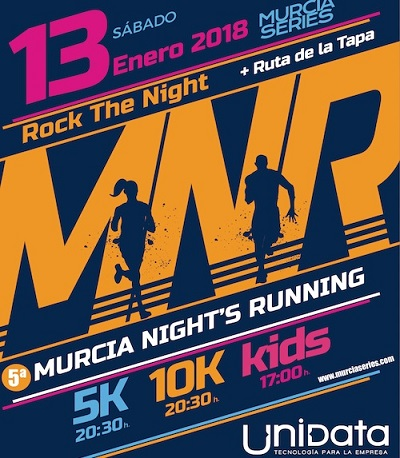 V Night Murcia Running en Murcia