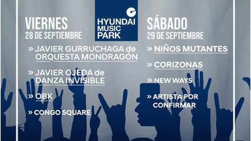 Hyundai Music Park Weekend en Murcia